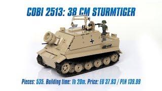 [COBI 2513] 38 cm Sturmtiger review & speed build