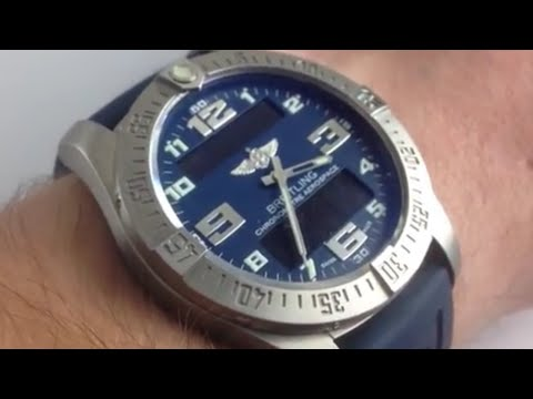 Breitling Aerospace Evo: How To Use The Breitling Aerospace Luxury Watch User's Guide