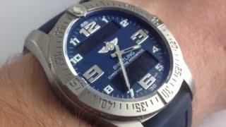 Аерокосмічний його подивитися: як використовувати керівництво компанії Breitling аерокосмічної годинник класу люкс користувача