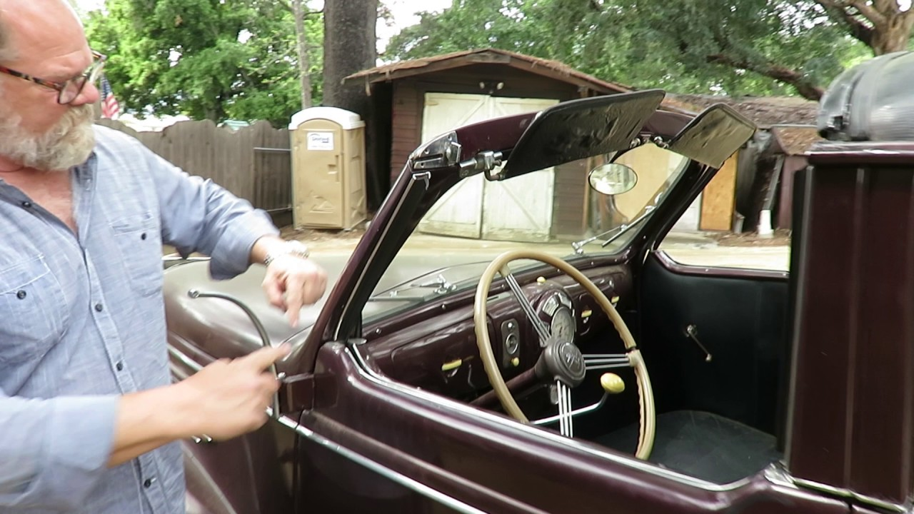 One Of One 1938 Lincoln Zephyr Town Car V12 Bodied By Brunn Youtube