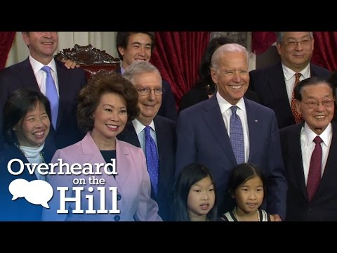 Hilarious Joe Biden Moments | Overheard On The Hill | MSNBC