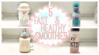 5 Gyors és Egészséges Smoothie Reggelire | Back To School