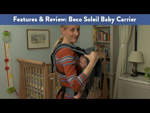 Features And Review Of The Beco Soleil Baby Carrier Cloudmom Youtube