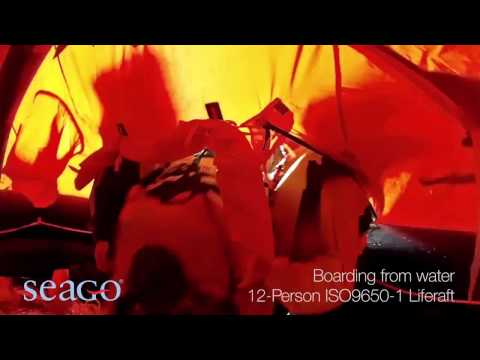 SEAGO 12 Person ISO 9650 1 Liferaft | Pirates Cave Chandlery