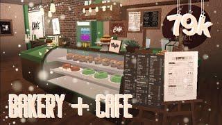 CAFE + BAKERY! | Bloxburg Speedbuild