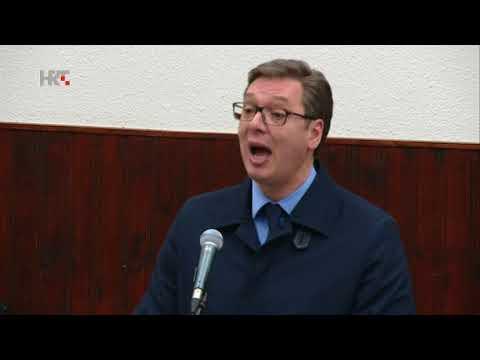Aleksandar Vučić: ''Ajde sad malo ćutite, da ja malo govorim''