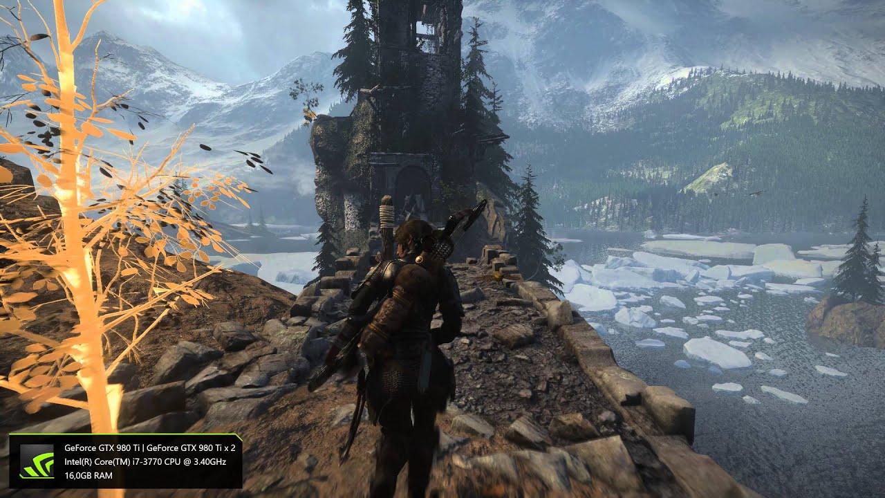 Rise Of The Tomb Raider 4k Pc Gameplay Maximum Settings Youtube