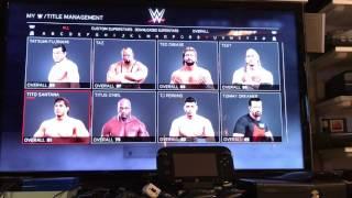 My WWE 2K17 Wrestlers & Champions