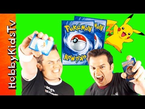 Pokemon Card Game with HobbyDad vs HobbyGuy: Episode 1