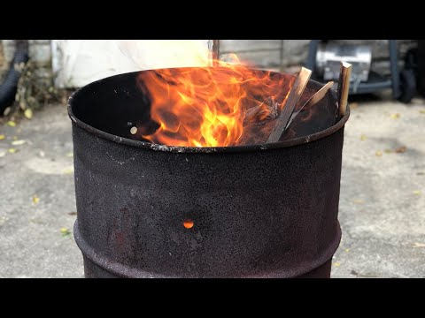 DIY Burn Barrel  Tips and Tricks