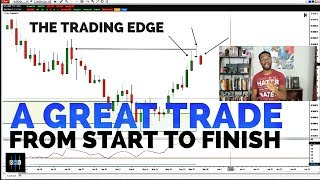 FOREX TRADING - A Great Trade From Start To Finish