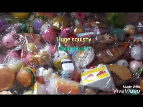 Massive Squishy Collection : HUGE SQUISHY COLLECTION PART #1 Hamster squishy - YouTube