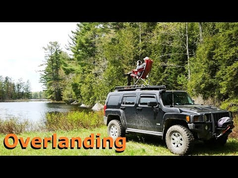 Overland Adventure In Canada On Hummer H3 - Old Wagon Rd