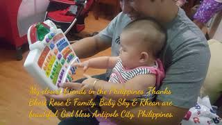 My closest friends in the Philippines. Thanks Bhest Rose & Family. Baby Sky & Rhean are beautiful.