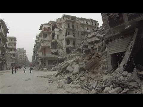 Alep : retour à la vie au milieu des ruines