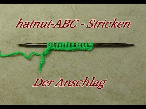 hatnut-ABC – Stricken lernen – Maschen anschlagen – Veronika Hug