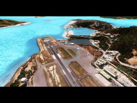 Best Freeware Scenery for FSX - Hamilton Islands - ep 2 - HD