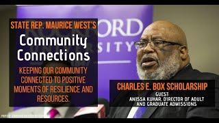 COMMUNITY CONNECTIONS || Charles E. Box Scholarship | Rockford University