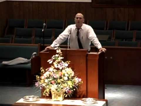 David Bryant preaching Come Thou With Us