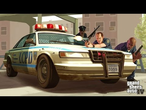 Dzień policjanta w GTA IV LIDERTY CITY LOST AND DAMNED