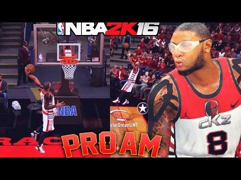 High Ranked Team 600 Wins?! CRAZY 2nd Half! NBA 2K16 Pro Am Gameplay