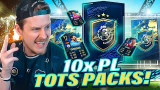 WHAT IS THIS?! 10X GUARANTEED PREMIER LEAGUE TOTS PACKS! FIFA 21 Ultimate Team