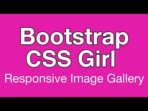 Bootstrap 3 CSS Responsive Image Gallery