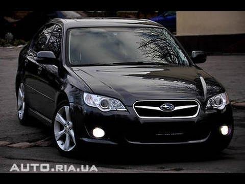 Отзыв владельца Subaru Legacy 2 0 2007 At Youtube