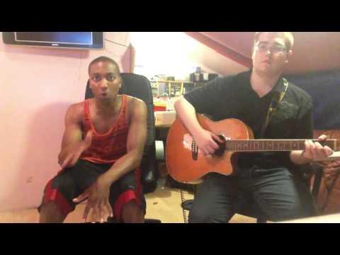 Marcquelle Ward quick freestyle at Middleton pop school. Rap