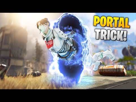 NEW PORTAL TRICK!! | Best Apex Legends Funny Moments and Gameplay - Ep.67