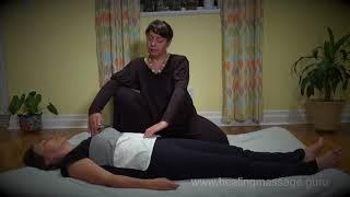 Тренировка внимания и баланса в массажной сессии. Урок первый. Ведет - Олеся Бондарева.
