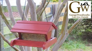 Make A Hanging Bird Feeder
