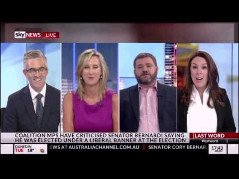 Paul Murray goes feral at Peter Hartcher on Sky News