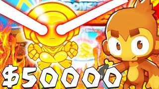MOST OVERPOWERED LASER ENGINEER TOWER - BLOONS TD BATTLES MOD | JeromeASF