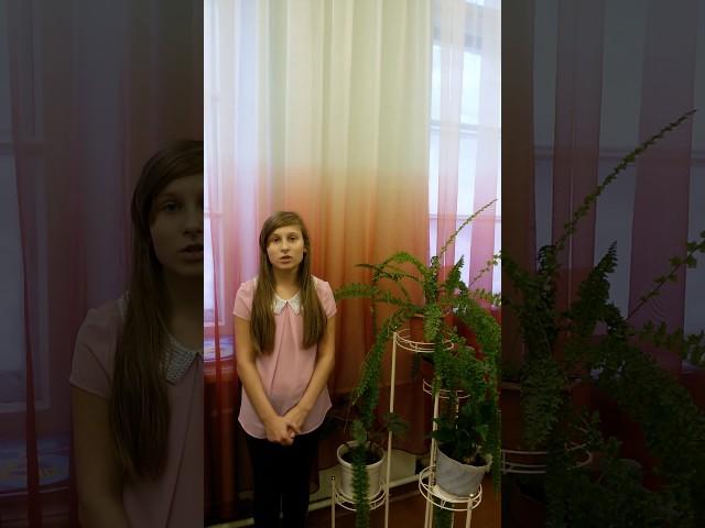 Изображение предпросмотра прочтения – ДианаХомякова читает произведение «Ворона и Лисица» И.А.Крылова