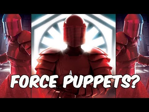 Are Snoke's Guards Force Puppets? STAR WARS