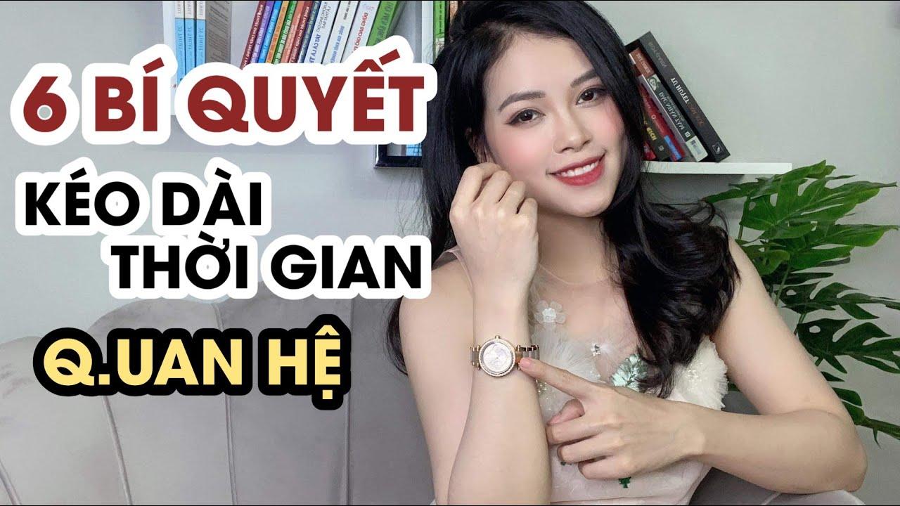 6 bí quyết KÉO DÀI THỜI GIAN QUAN HỆ, chống XUẤT TINH SỚM | Nữ hoàng tình dục học | Thanh Hương