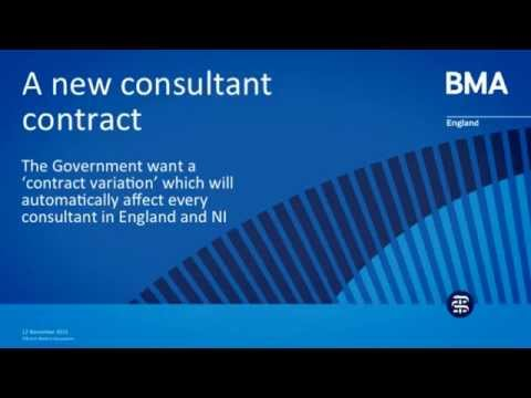 A new consultant contract