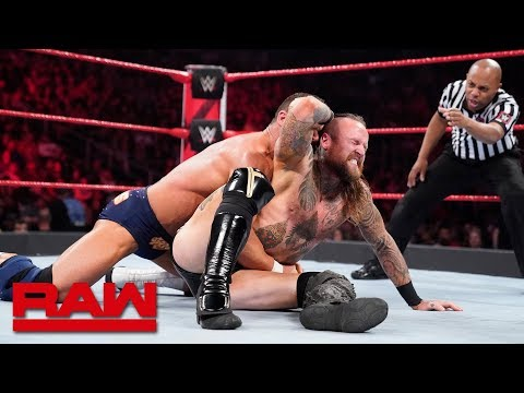 Aleister Black & Ricochet vs. Chad Gable & Bobby Roode: Raw, March 11, 2019