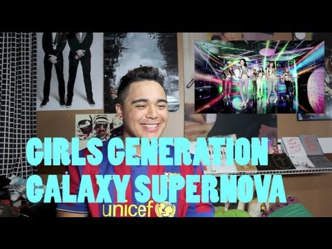 Girls Generation - Galaxy Supernova MV dance version reaction