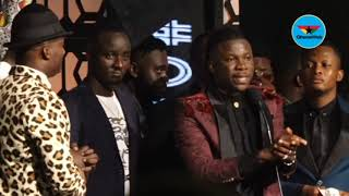2019 VGMAs: Stonebwoy apologises to Ghanaians after fight with Shatta Wale on stage