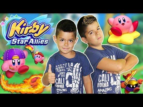 KIRBY STAR ALLIES!!Nuevo juego para la switch