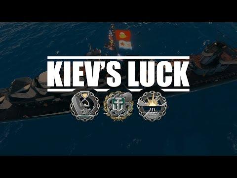 World Of Warships - Kiev's Luck