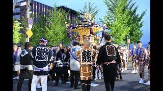 住吉神社本祭り!百貫神輿担ぐ200人画像