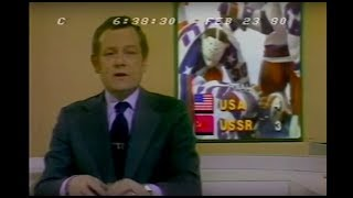 Gambar cover Soviet Citizens Not Happy About Olympic 'Miracle on Ice' - CBS Evening News - February 23, 1980
