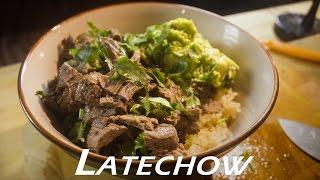 Carne Asada Rice Bowl: Latechow - Episode 63