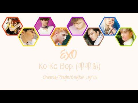 EXO – Ko Ko Bop (叩叩趴) [Chinese Version] [Colour Coded Chinese/Pinyin/English Lyrics][中文认声]
