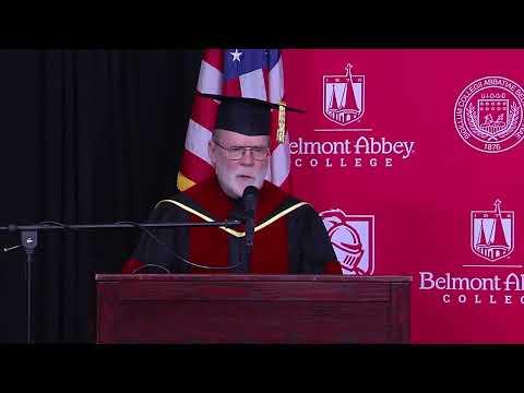 Belmont Abbey College Graduation