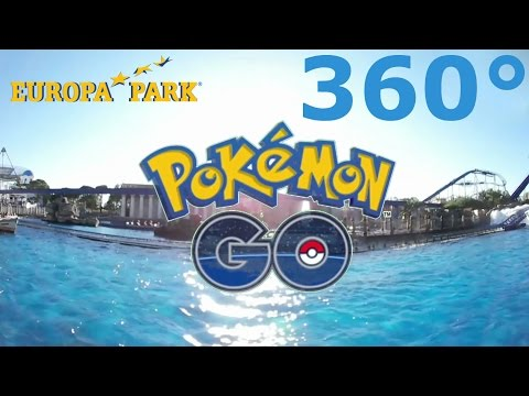 360° Pokemon GO in Theme Park Real Life Virtual Reality