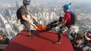 Download Video KL Tower 2017 BASE Jump 2017 MP3 3GP MP4